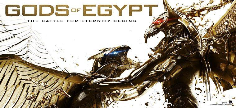 """پادکست نقد و بررسی فیلم """"خدایان مصر"""" Gods of Egypt"""