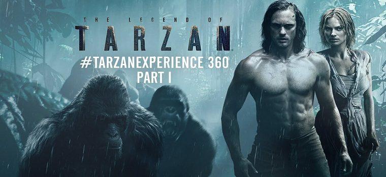 """پادکست نقد و بررسی فیلم """"افسانه تارزان"""" Legend of Tarzan"""