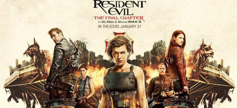 """پادکست نقد و بررسی فیلم """"رزیدنت اول: قسمت آخر"""" Resident Evil: Final Chapter"""
