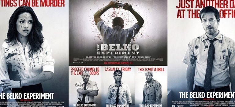 """پادکست نقد و بررسی فیلم """"آزمایش بلکو"""" Belko Experiment"""
