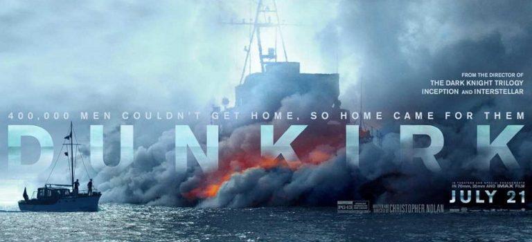 """پادکست نقد و بررسی فیلم """"دانکرک"""" Dunkirk"""
