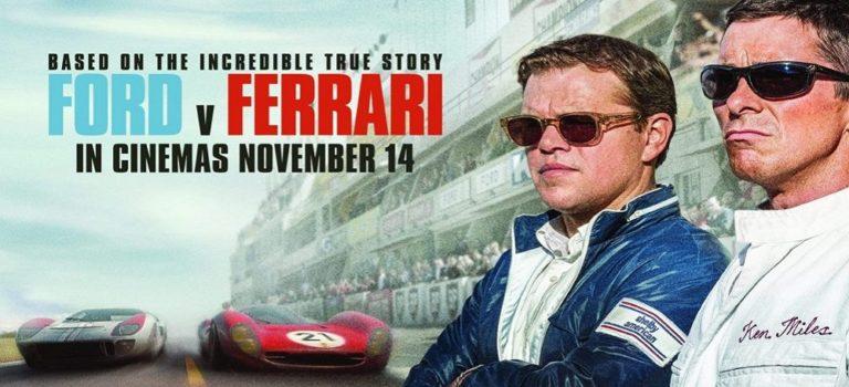 """پادکست نقد و بررسی فیلم """"فورد علیه فراری"""" Ford v Ferrari"""