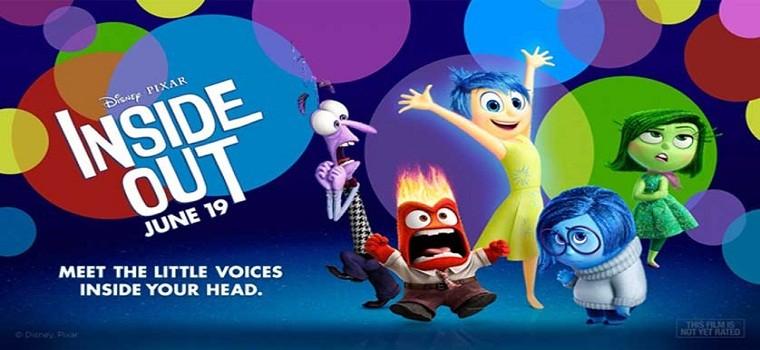 """پادکست نقد و بررسی انیمیشن """"پشت و رو"""" Inside Out"""