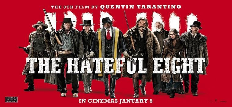 """پادکست نقد و بررسی فیلم """"هشت نفرت انگیز"""" Hateful eight"""