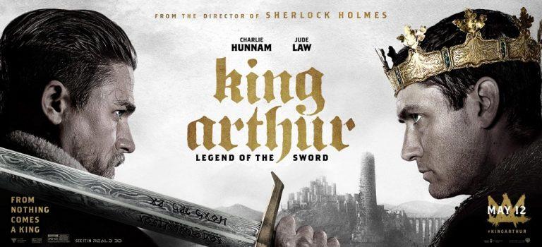 """پادکست نقد و بررسی فیلم """"شاه آرتور: افسانه شمشیر"""" King Arthur: Legend of Sword"""