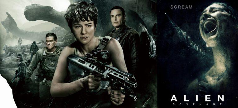 """پادکست نقد و بررسی فیلم """"بیگانه: پیمان"""" Alien: Covenant"""