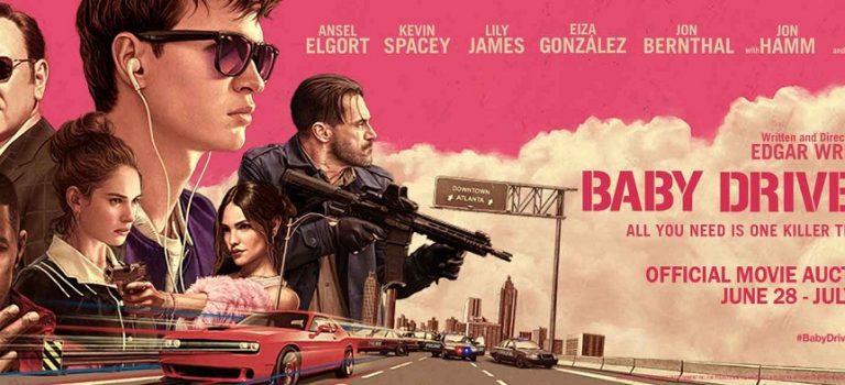 """پادکست نقد و بررسی فیلم """"بیبی درایور"""" Baby Driver"""