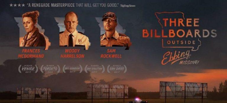 """پادکست نقد و بررسی فیلم """"سه بیلبورد خارج از ابینگ، میزوری"""" Three Billboards Outside Ebbing, Missouri"""