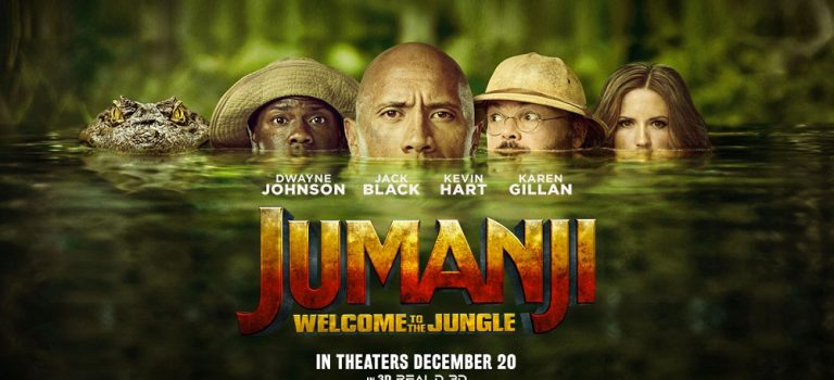 """پادکست نقد و بررسی فیلم """"جومانجی: به جنگل خوش آمدید"""" Jumanji: Welcome to the Jungle"""