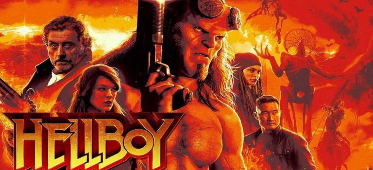 """پادکست نقد و بررسی فیلم """"پسر جهنمی"""" Hellboy"""