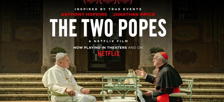 """پادکست نقد و بررسی فیلم """"دو پاپ"""" Two Popes"""