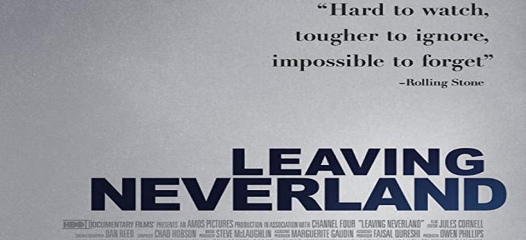 """پادکست نقد و بررسی فیلم """"ترک کردن نورلند"""" Leaving Neverland"""