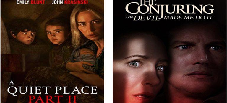 """پادکست نقد و بررسی فیلم های """"Conjuring 3"""" و """"A Quiet Place 2"""""""